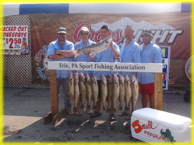 lake erie PA sport fishing association walleyes